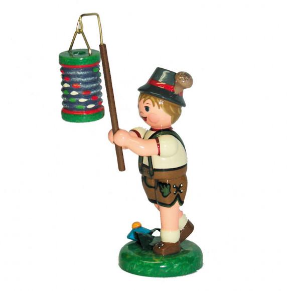 Lampionkind Junge mit Lampion