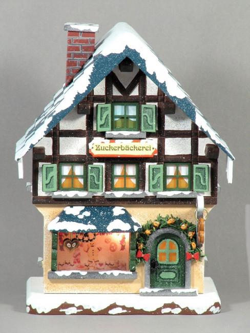 Winterkinder Winterhaus Zuckerbäckerei
