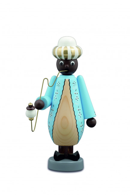 Räuchermann Mohr, blau