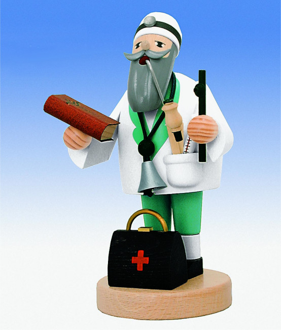 Räuchermännchen Doktor