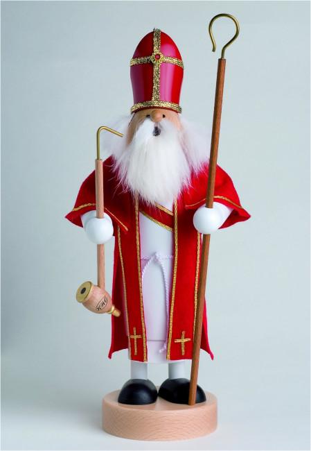 Räuchermännchen Heiliger St. Nikolaus