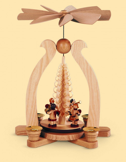 Bogenpyramide Musikengel