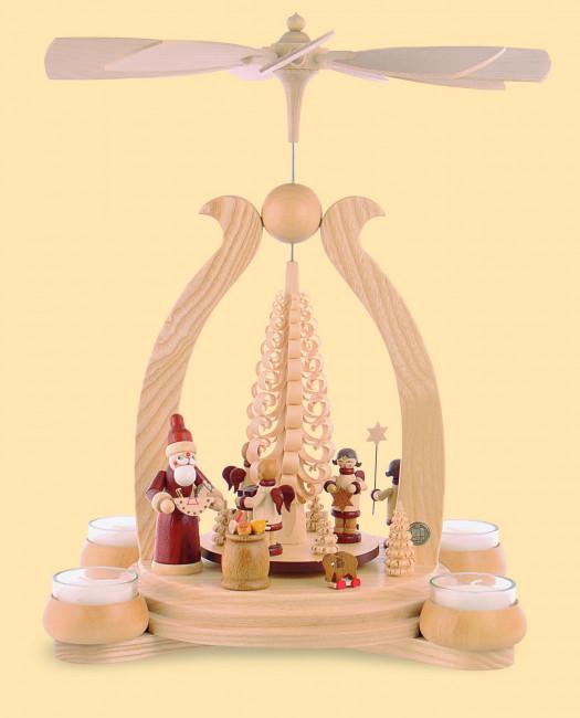 teelicht bogenpyramide bescherung teelichtpyramiden. Black Bedroom Furniture Sets. Home Design Ideas