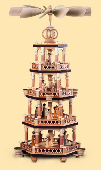 Pyramide Heilige Geschichte, 4-stöckig