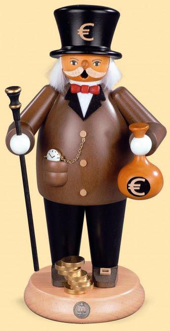 Müller Räuchermännchen Banker