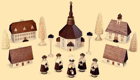 Seiffener Dorf mit Kurrende