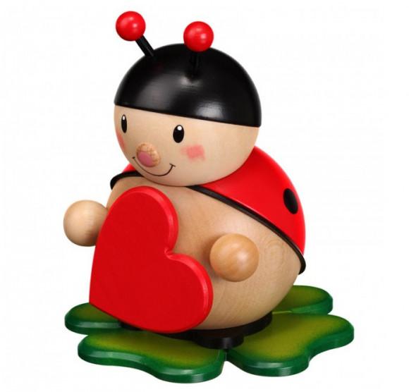 Marienkäfer mit Herz groß