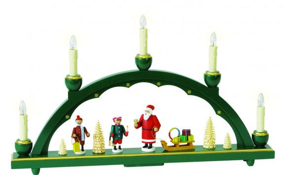 Schwibbogen Motiv Weihnachtsmann