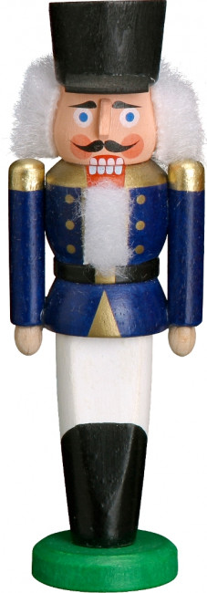 Nussknacker Husar in blauer Uniform