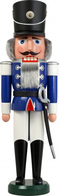 Nussknacker Husar blau