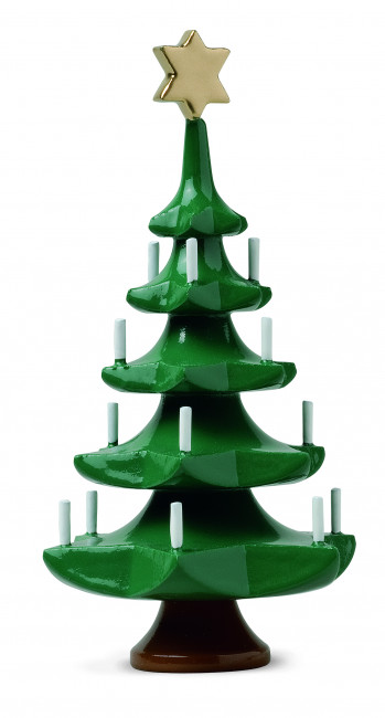 weihnachtsbaum mit stern klein erzgebirgskunst drechsel. Black Bedroom Furniture Sets. Home Design Ideas