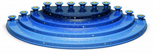 4-stufiger Engelberg mit 12 Kerzentüllen