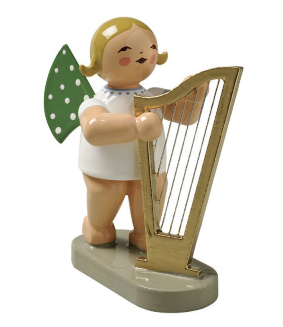 Engel mit Harfe groß