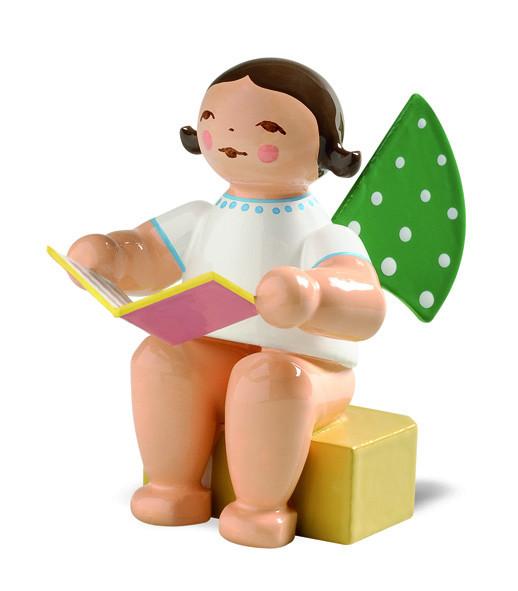 Engel klein mit Buch