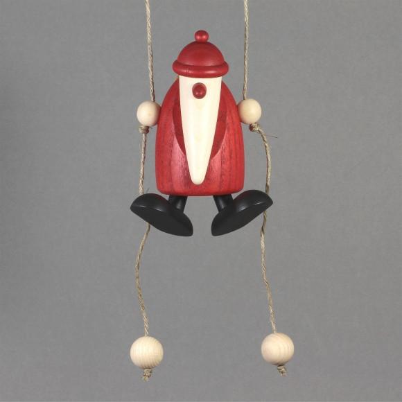 Weihnachtsmann, kletternd