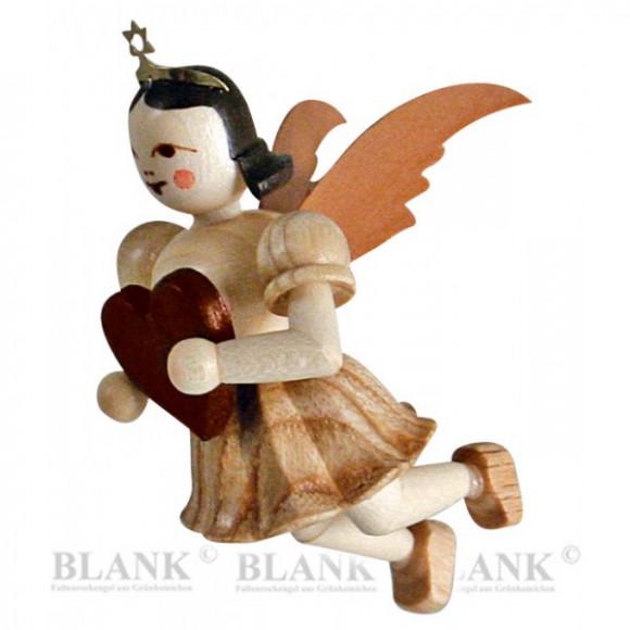 Engel schwebend mit Herz