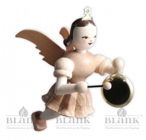 Engel schwebend mit Gong