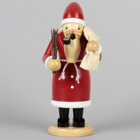 Olbernhauer Räuchermann Weihnachtsmann farbig