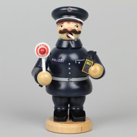 Olbernhauer Räuchermann Polizist, klein