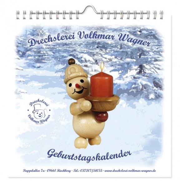 Drechslerei Wagner Geburtstagskalender