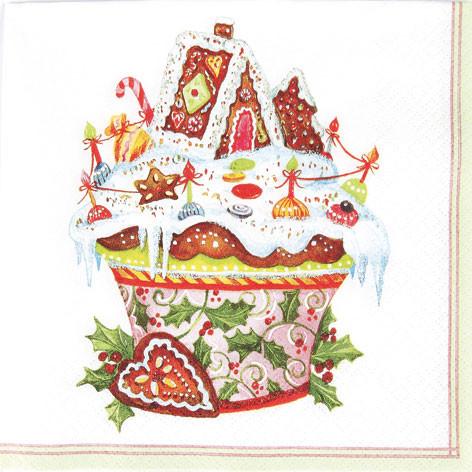 Tischservietten Süße Weihnachten