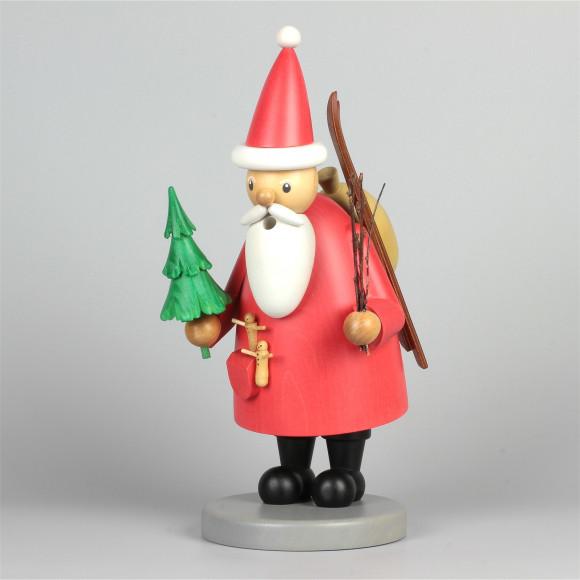 Räuchermann Weihnachtsmann, gebeizt