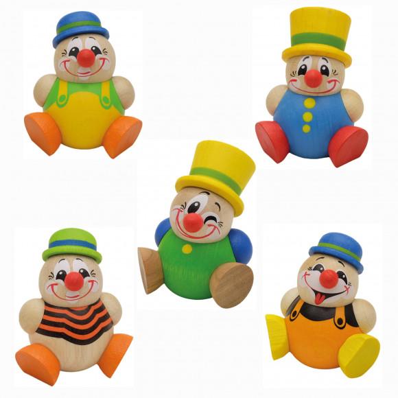Kugelfiguren Clowny, 5-teilig