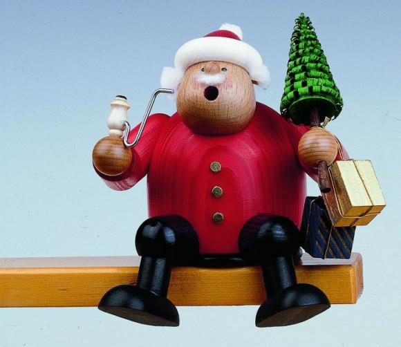 Räuchermann Kantenhocker Weihnachtsmann