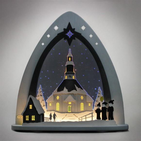 LED Lichterspitze 'Seiffner Kirche'