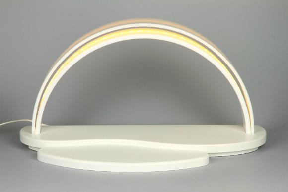 Hi-MACS LED Schwibbogen, weiss