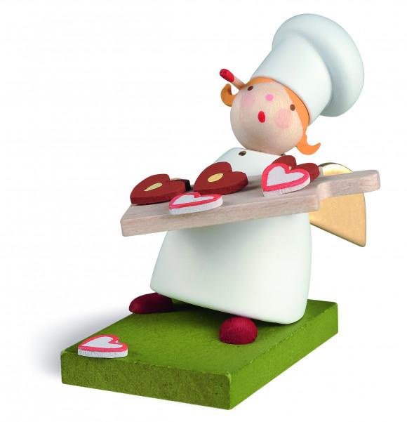 Schutzengel mit Bäckermütze