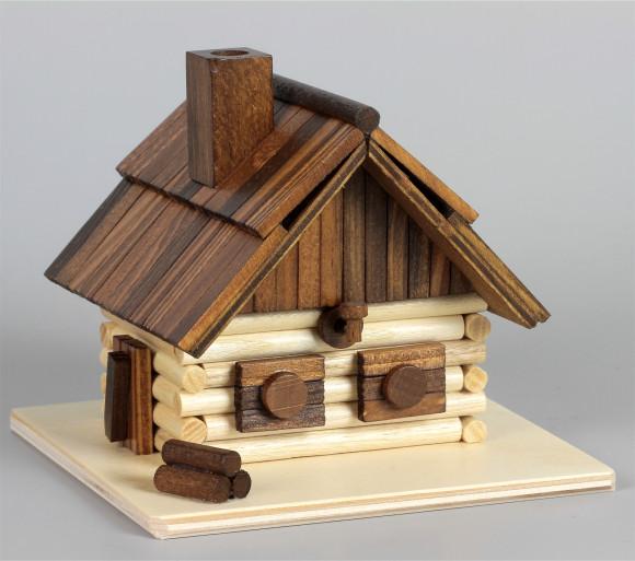 Räucherhaus Blockhütte Bergbaude