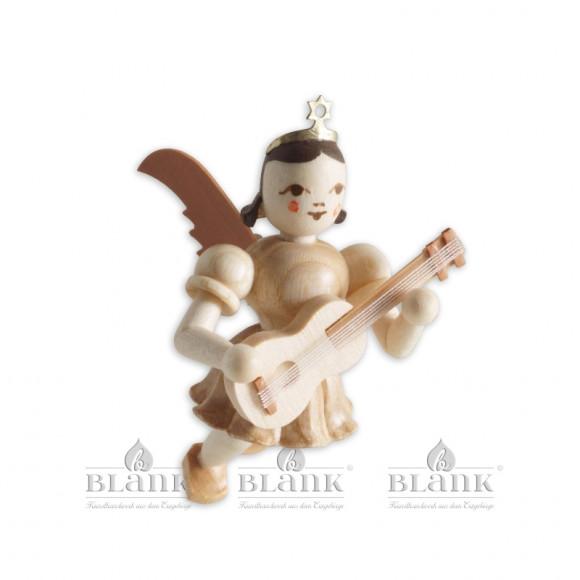 Engel schwebend mit Gitarre