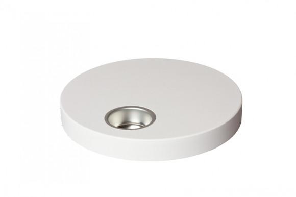 Teelichthalter 18,0 cm weiß