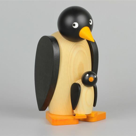 Pinguin mit Baby groß