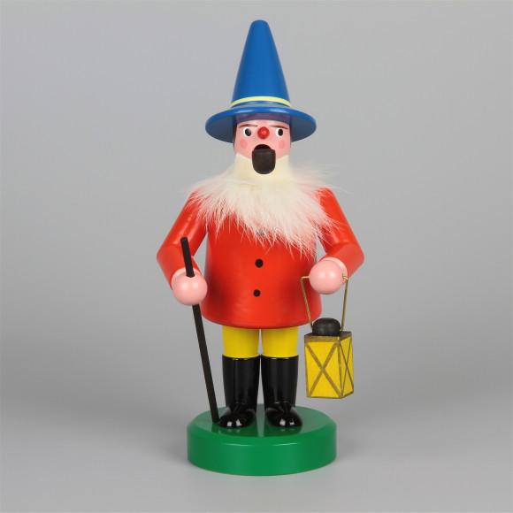 Seiffener Räuchermann Wichtel, rot