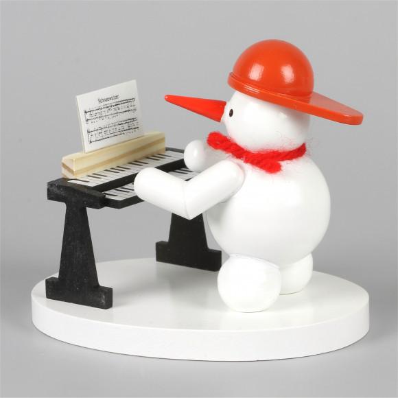 Schneemannkapelle Schneemann mit Keyboard