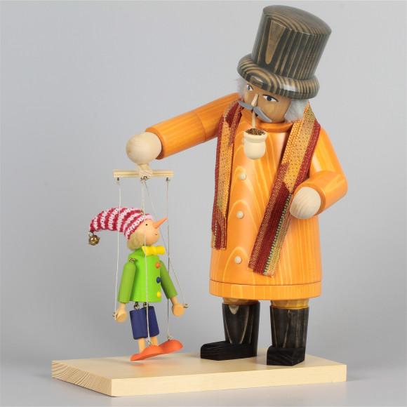 Räuchermann Marionettenspieler, limitiert auf 67 Stück