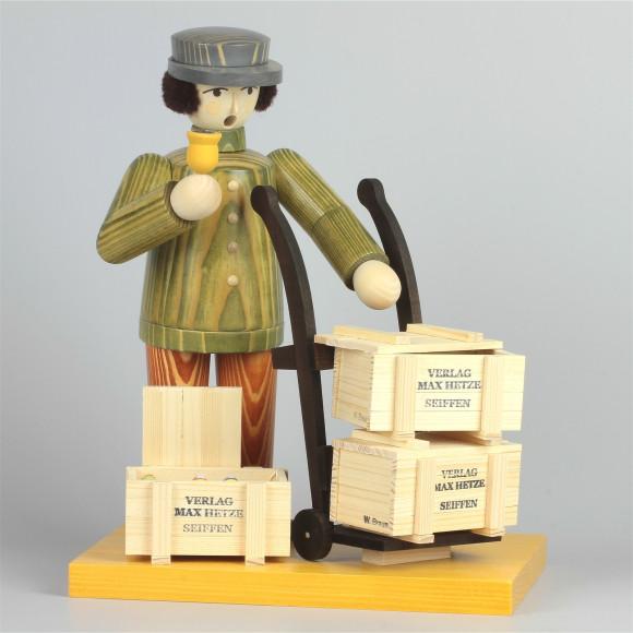 Räuchermann Spielzeugverleger, Jahresfigur 2014, limitiert
