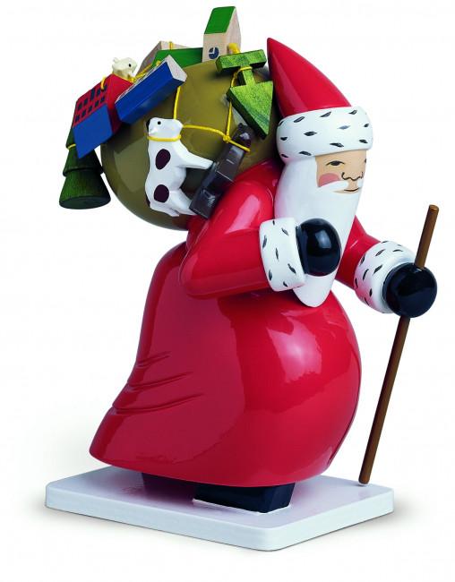 Großer Weihnachtsmann mit Spielzeug