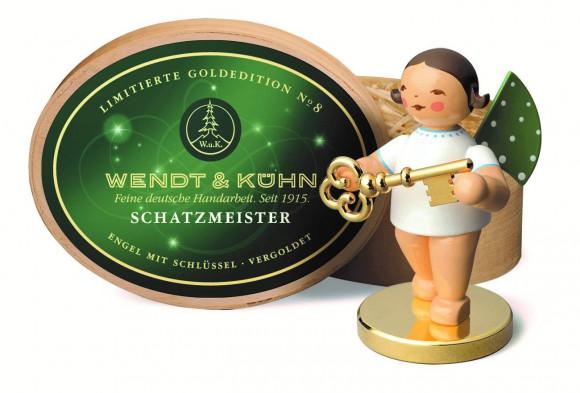 Engel Schatzmeister, limitierte Goldedition 2015