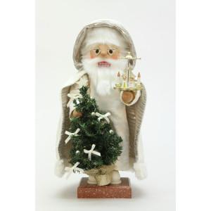Nussknacker Weihnachtsmann mit Pyramide