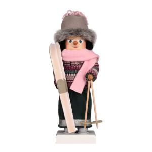 Nussknacker Skifahrerin