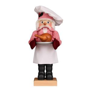 Nussknacker Weihnachtsmann Küchenchef