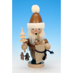 Räuchermännchen Weihnachtsmann / Rubricht natur