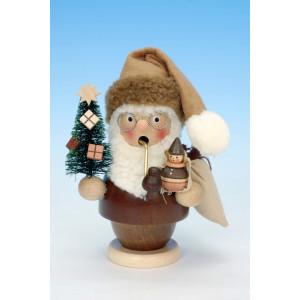 Santa Claus Räuchermann Weihnachtsmann natur