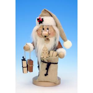 Räuchermännchen Wichtel Weihnachtsmann mit Geschenken