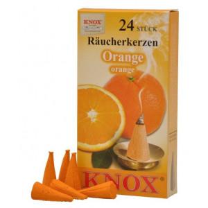 Räucherkerzen  - Gewürze - Orange 35g, 24 Stk. Packung