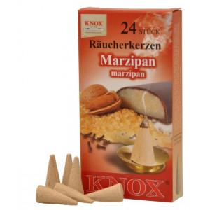 Räucherkerzen  - Gewürze - Marzipan 35g, 24 Stk. Packung