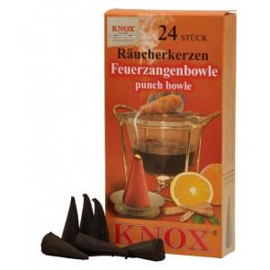 Räucherkerzen  - Gewürze - Feuerzangenbowle 35g, 24 Stk. Packung
